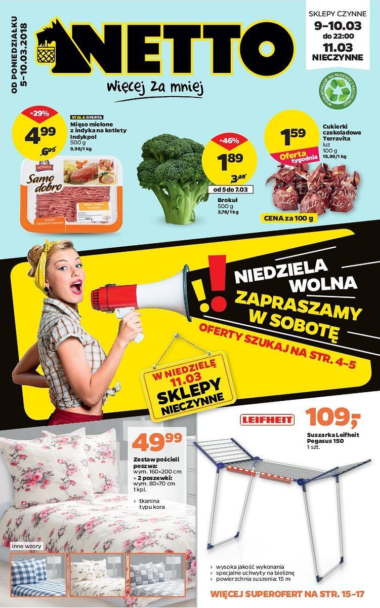 Gazetka promocyjna Netto do 11/03/2018 str.0