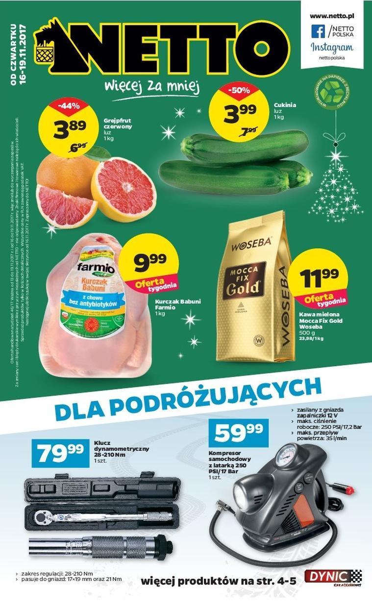 Gazetka promocyjna Netto do 19/11/2017 str.0