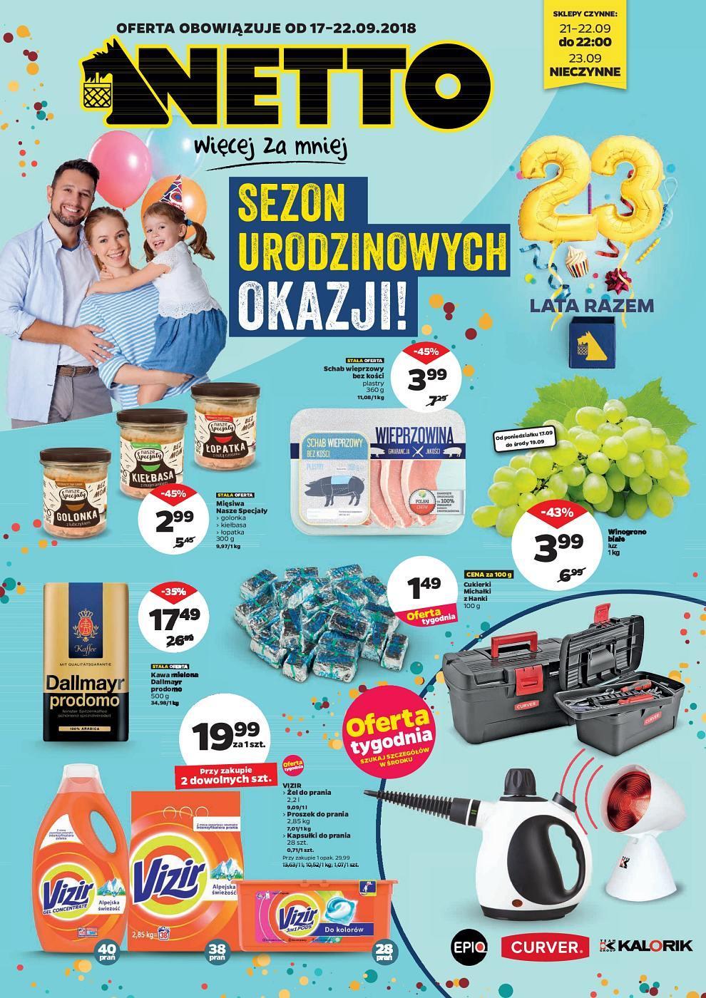 Gazetka promocyjna Netto do 22/09/2018 str.0