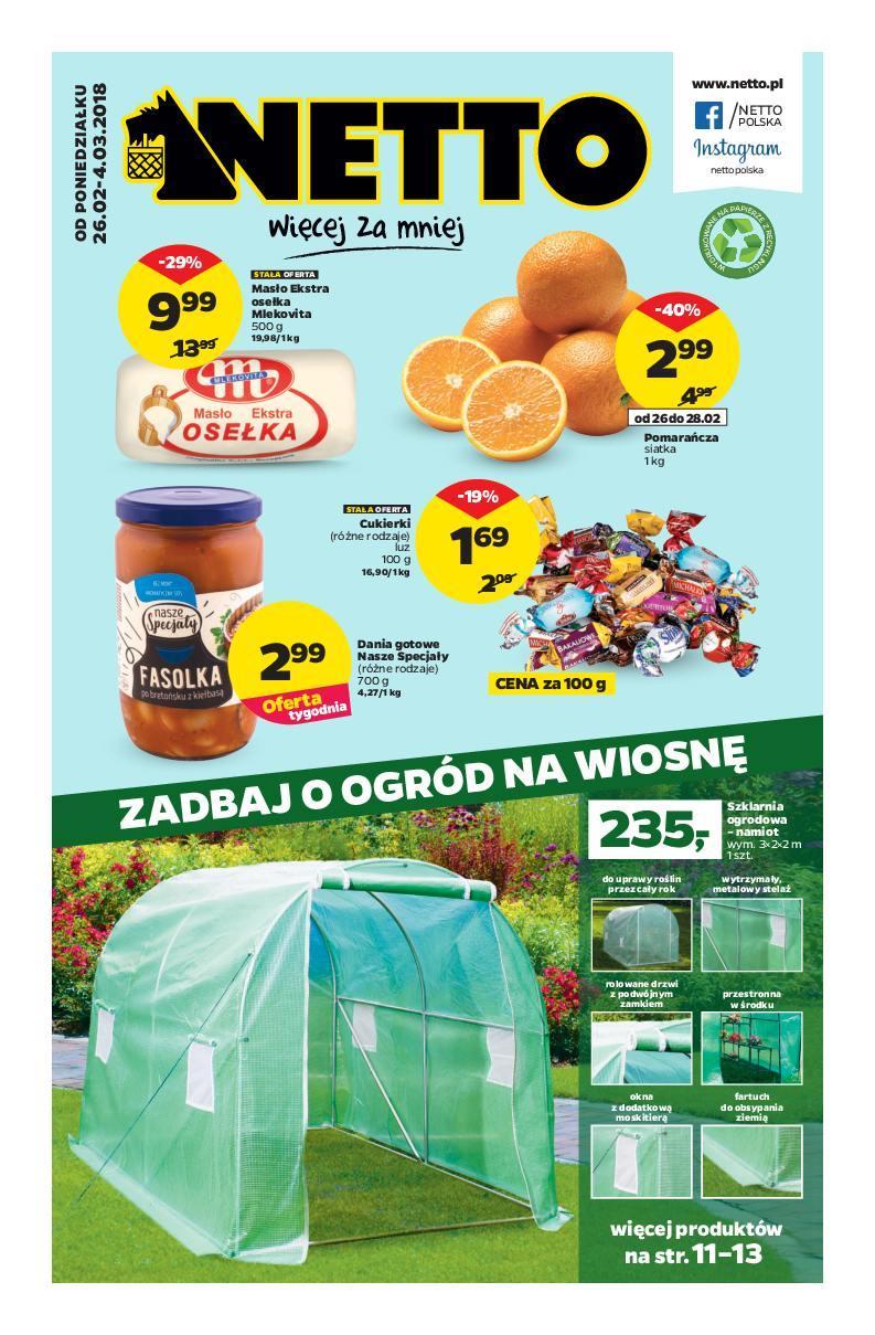 Gazetka promocyjna Netto do 04/03/2018 str.0