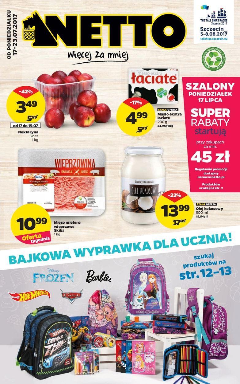 Gazetka promocyjna Netto do 23/07/2017 str.0