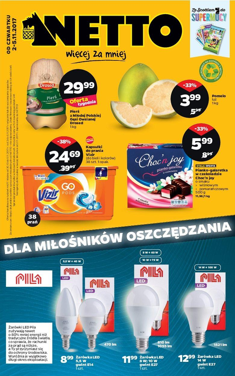 Gazetka promocyjna Netto do 05/11/2017 str.0