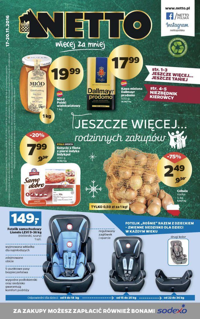 Gazetka promocyjna Netto do 20/11/2016 str.0