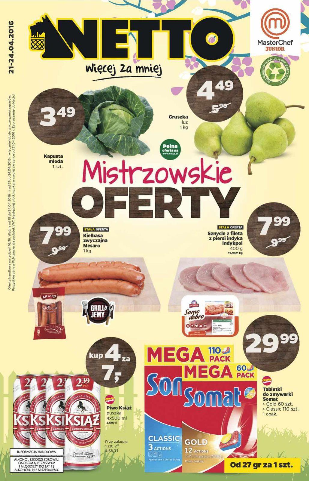 Gazetka promocyjna Netto do 24/04/2016 str.0