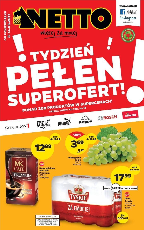 Gazetka promocyjna Netto do 14/05/2017 str.0