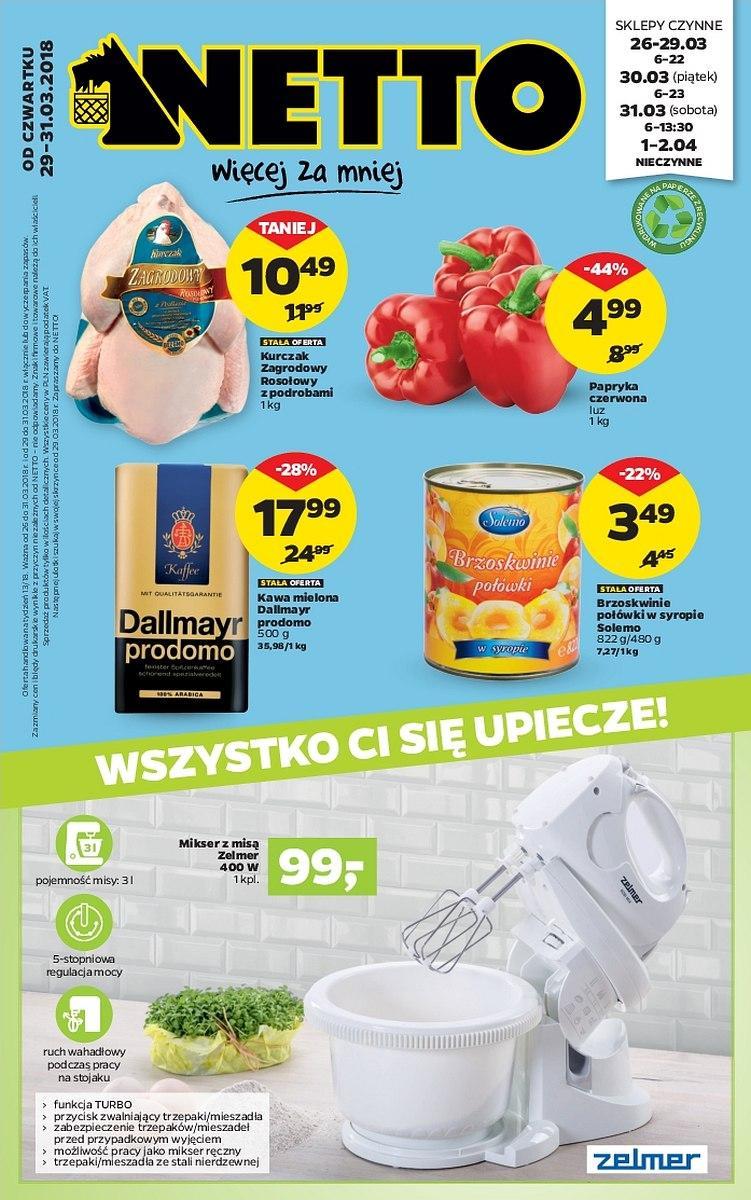Gazetka promocyjna Netto do 31/03/2018 str.0