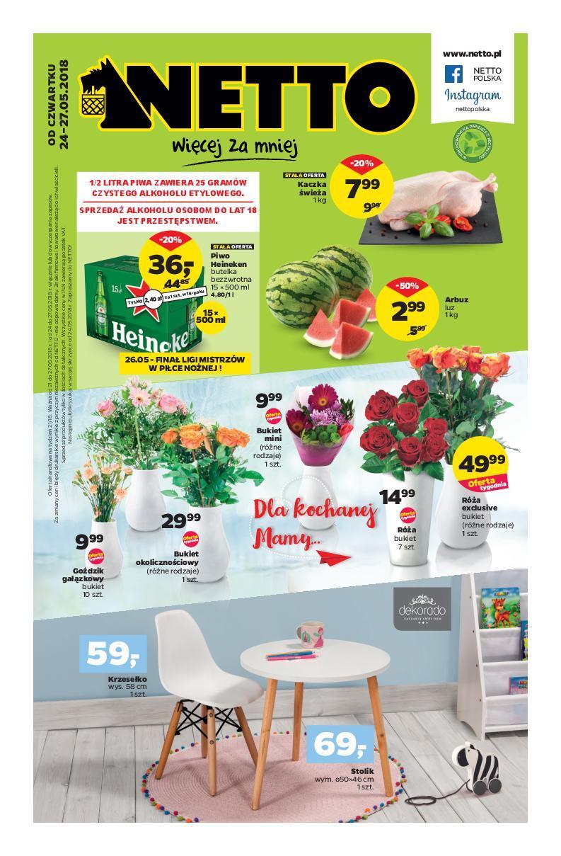 Gazetka promocyjna Netto do 27/05/2018 str.1
