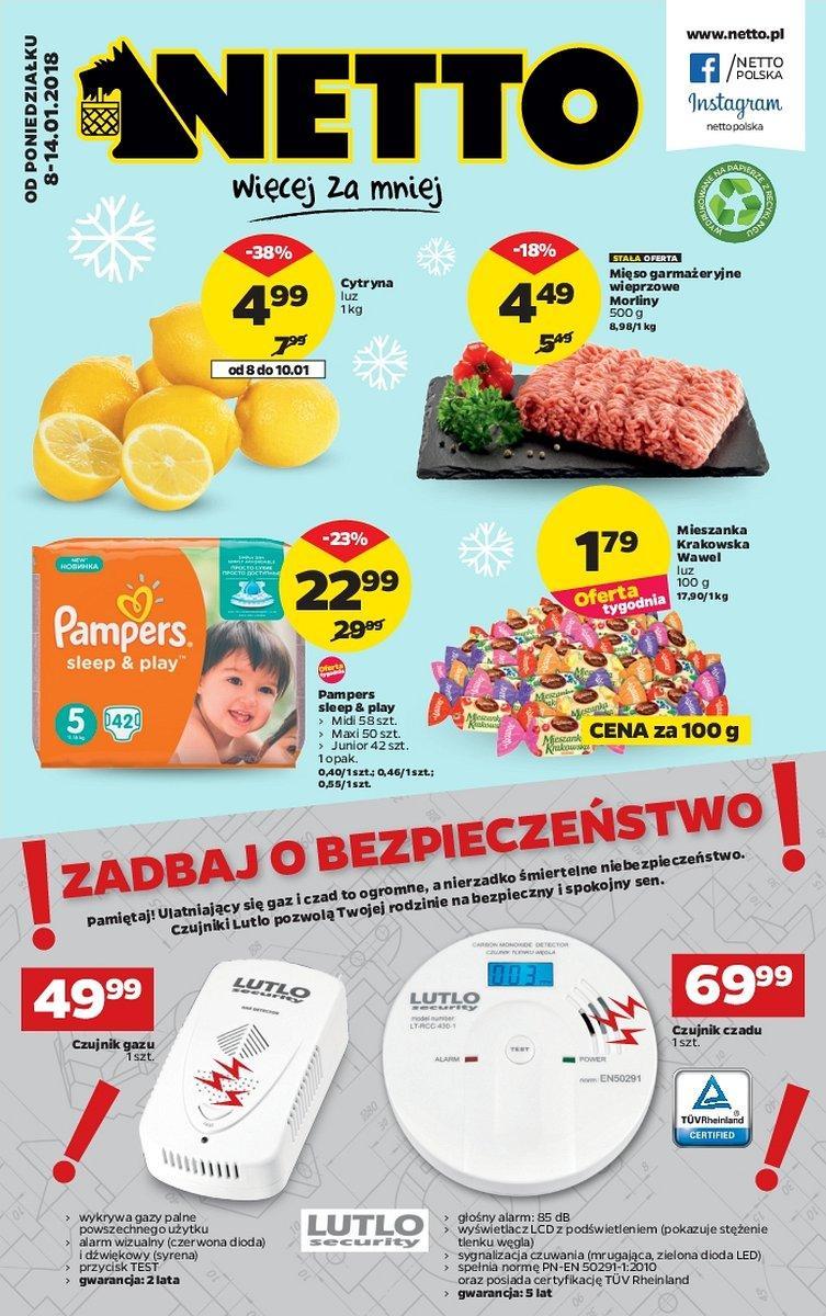 Gazetka promocyjna Netto do 14/01/2018 str.0