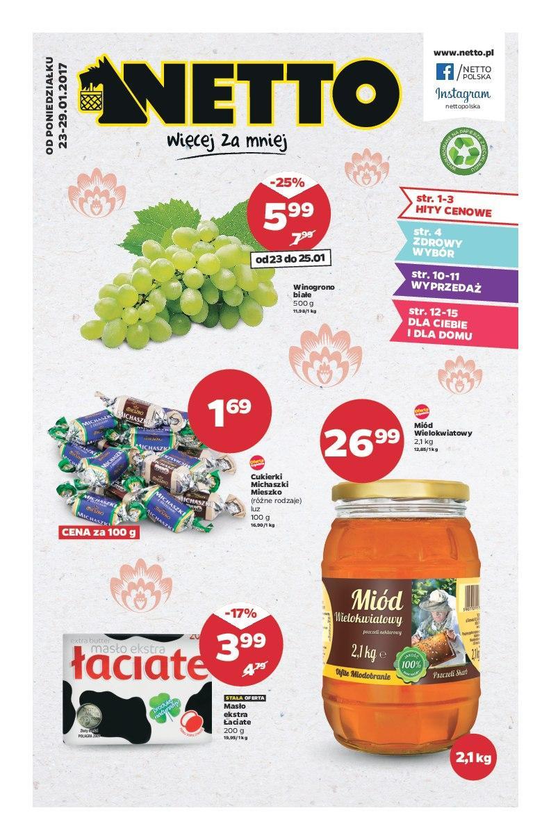 Gazetka promocyjna Netto do 29/01/2017 str.0
