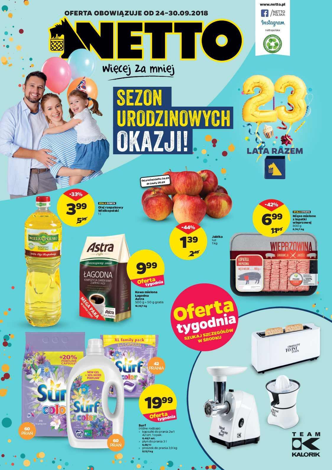 Gazetka promocyjna Netto do 30/09/2018 str.0