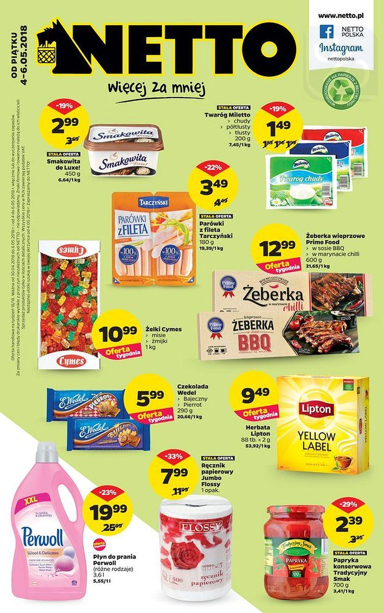 Gazetka promocyjna Netto do 06/05/2018 str.0