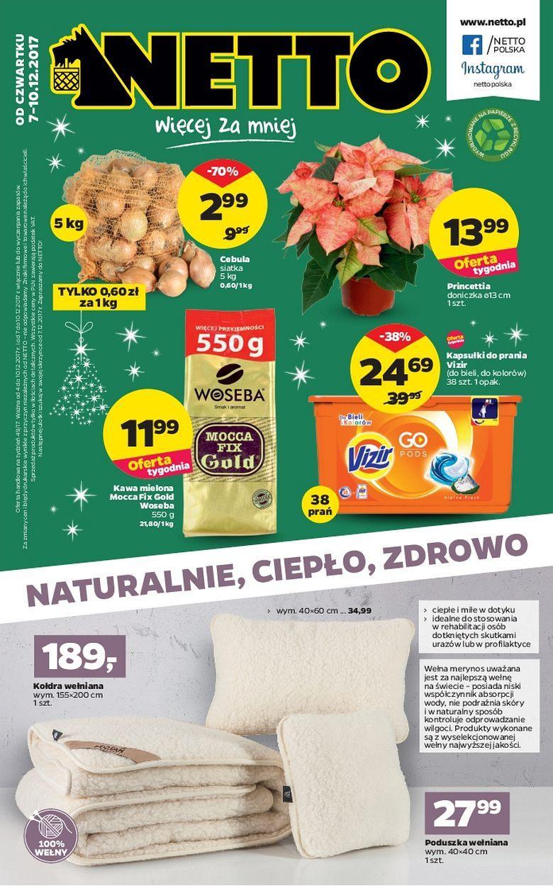 Gazetka promocyjna Netto do 10/12/2017 str.0