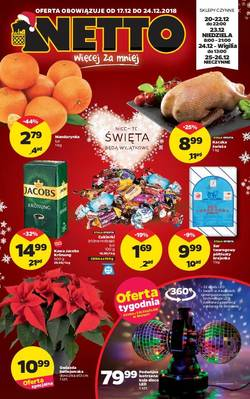 Netto gazetka - od 17/12/2018 do 24/12/2018