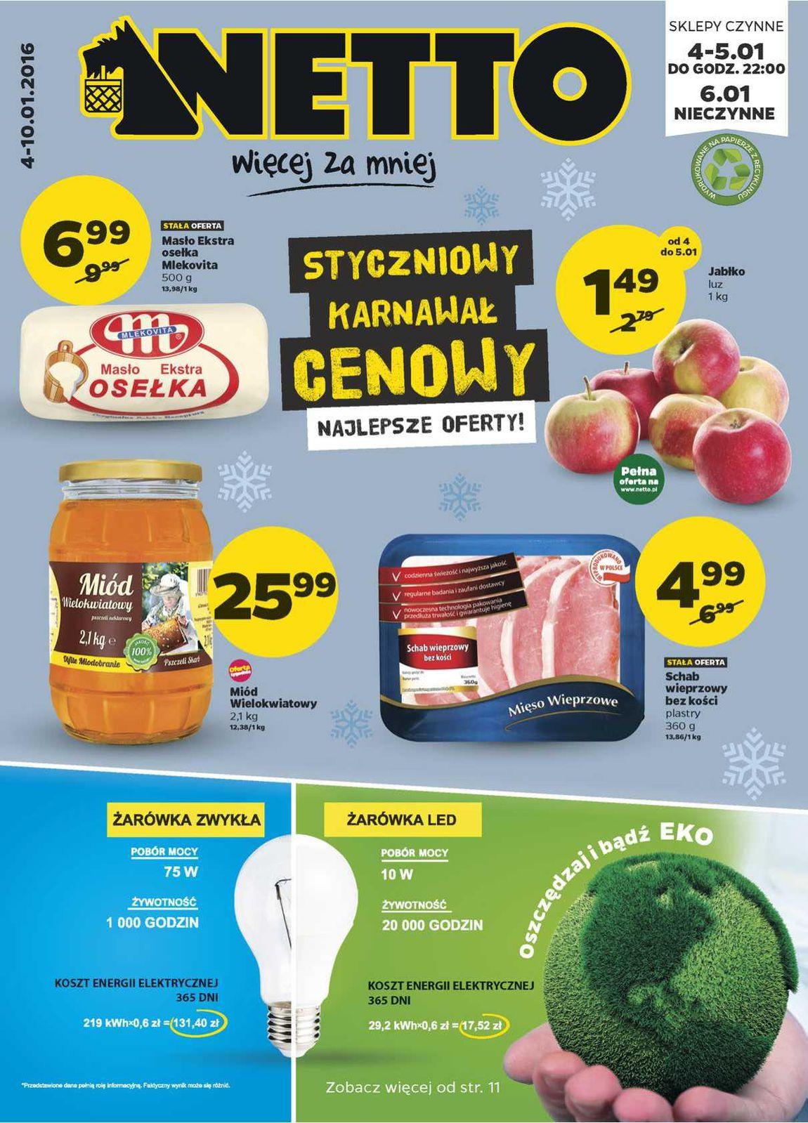 Gazetka promocyjna Netto do 10/01/2016 str.0
