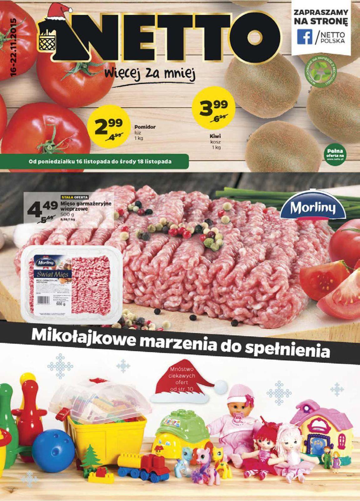 Gazetka promocyjna Netto do 22/11/2015 str.0