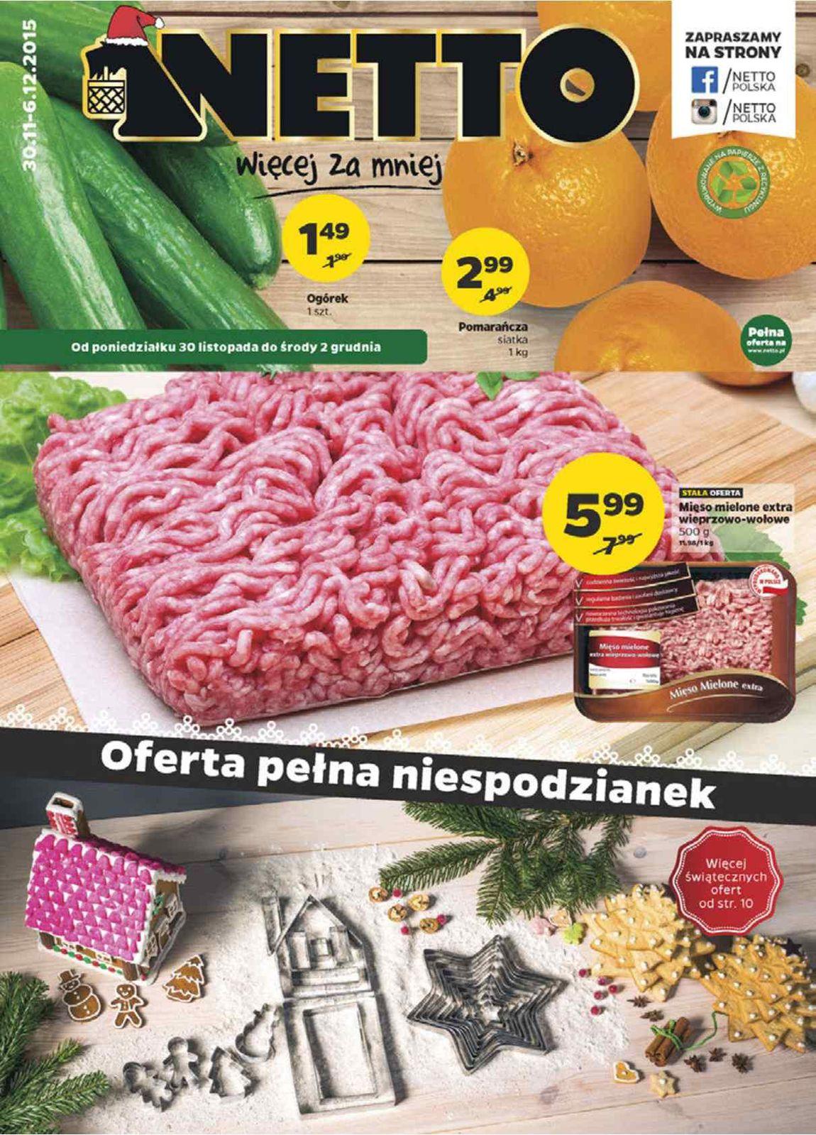 Gazetka promocyjna Netto do 06/12/2015 str.0