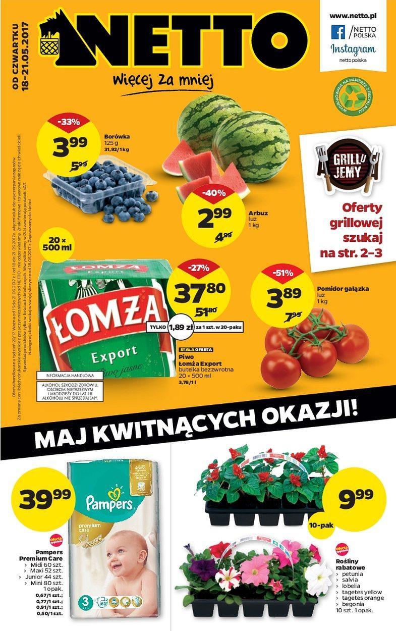 Gazetka promocyjna Netto do 21/05/2017 str.0