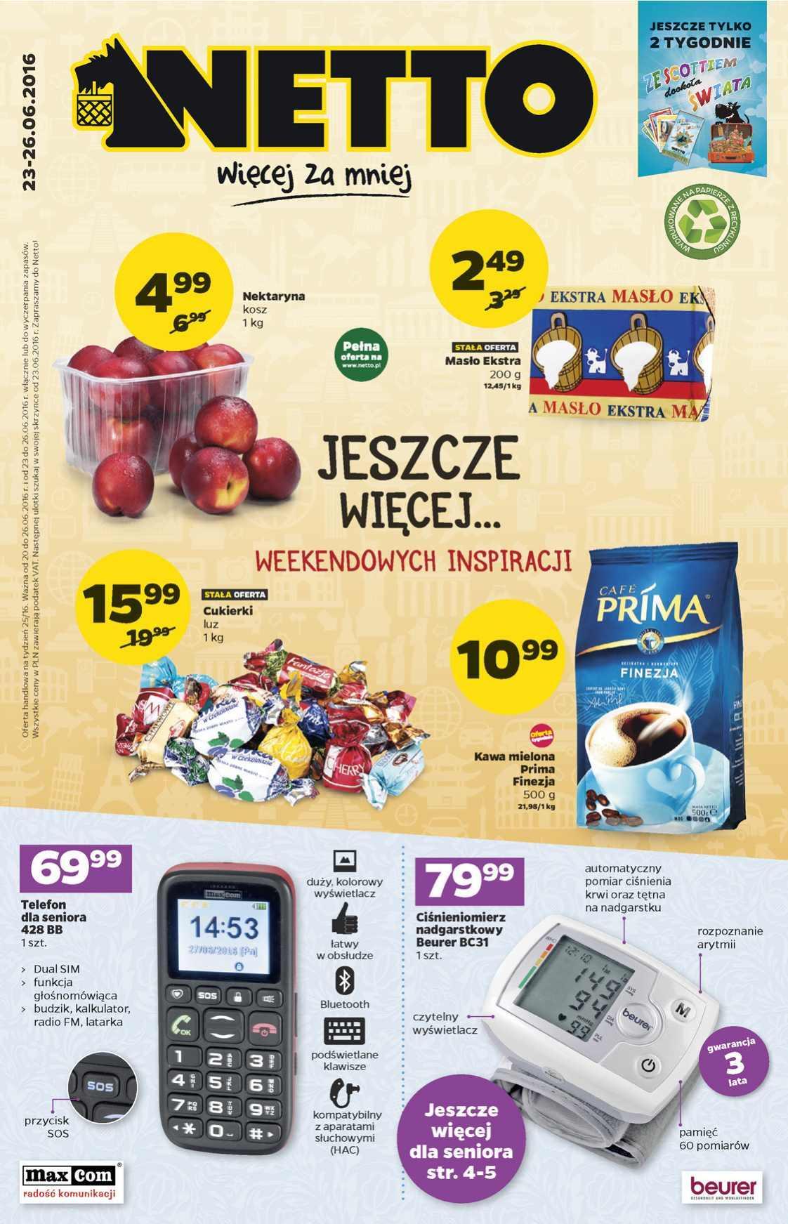 Gazetka promocyjna Netto do 26/06/2016 str.0