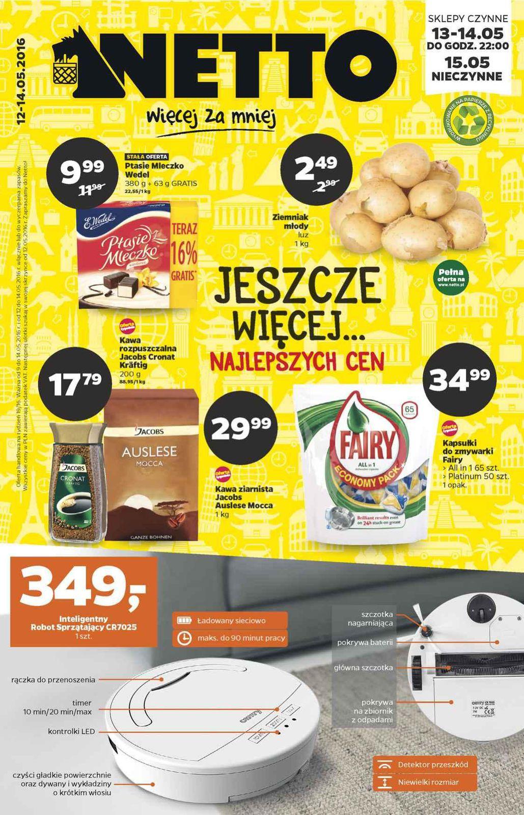 Gazetka promocyjna Netto do 14/05/2016 str.0