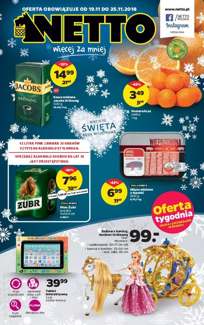 Gazetka promocyjna Netto do 25/11/2018 str.0