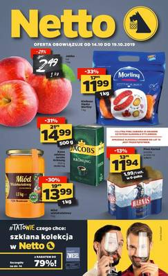Netto gazetka - od 14/10/2019 do 19/10/2019