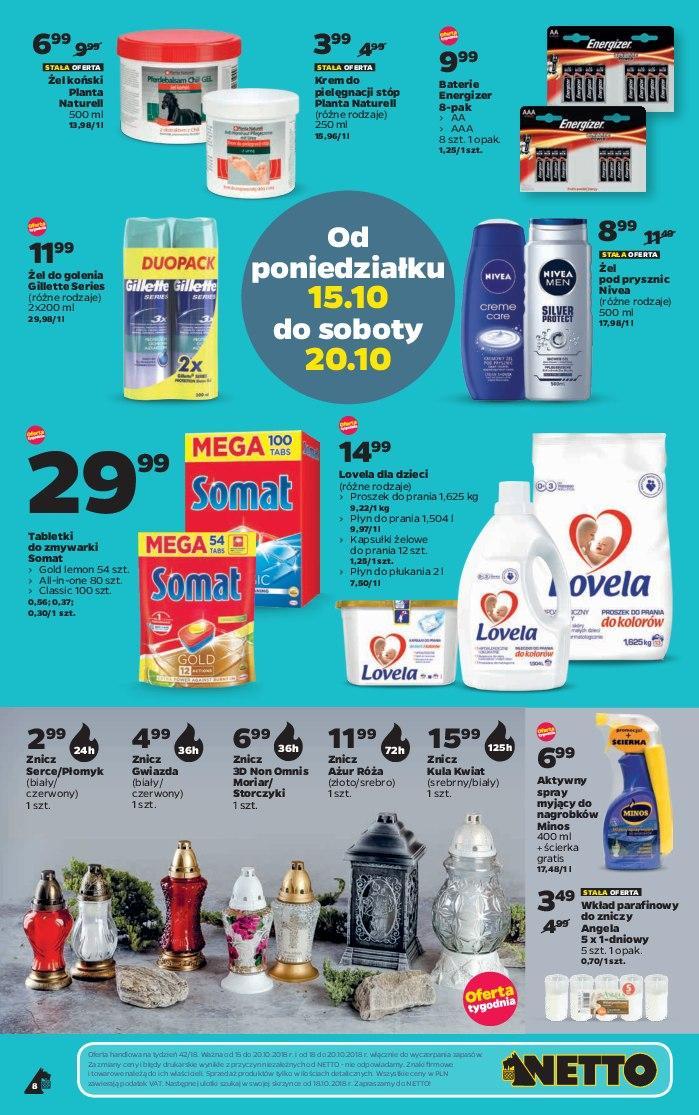 Gazetka promocyjna Netto do 20/10/2018 str.8