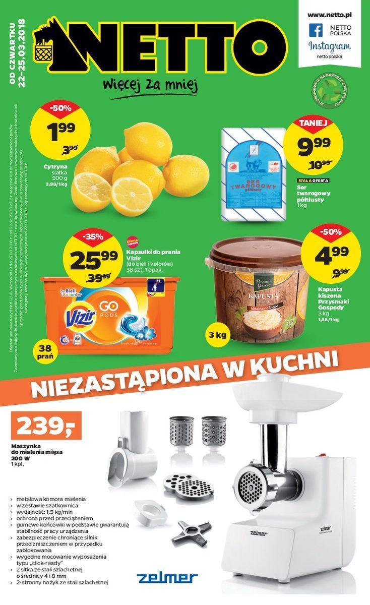 Gazetka promocyjna Netto do 25/03/2018 str.0