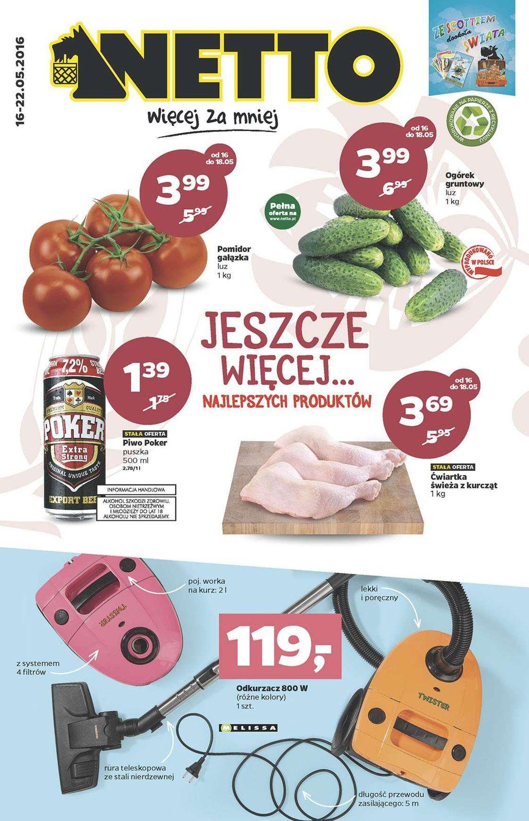 Gazetka promocyjna Netto do 22/05/2016 str.0