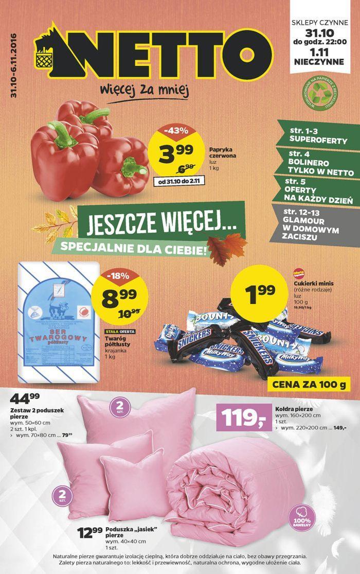 Gazetka promocyjna Netto do 06/11/2016 str.0