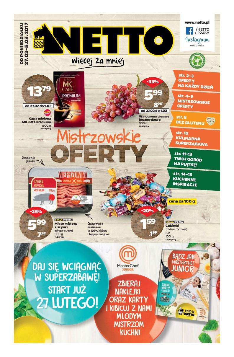 Gazetka promocyjna Netto do 05/03/2017 str.0