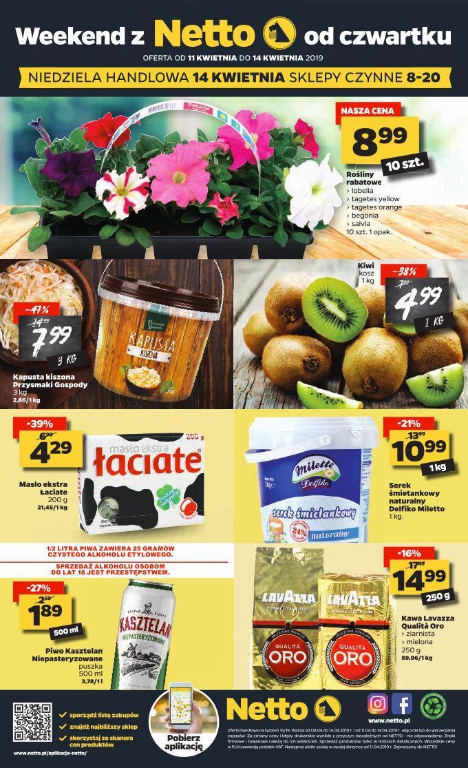 Gazetka promocyjna Netto do 14/04/2019 str.15