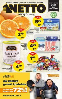 Netto gazetka  - od 25/02/2019 do 03/03/2019
