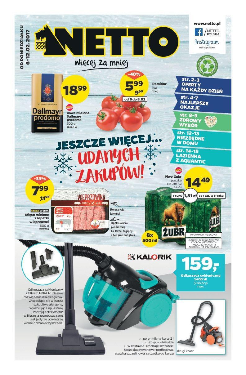 Gazetka promocyjna Netto do 12/02/2017 str.0