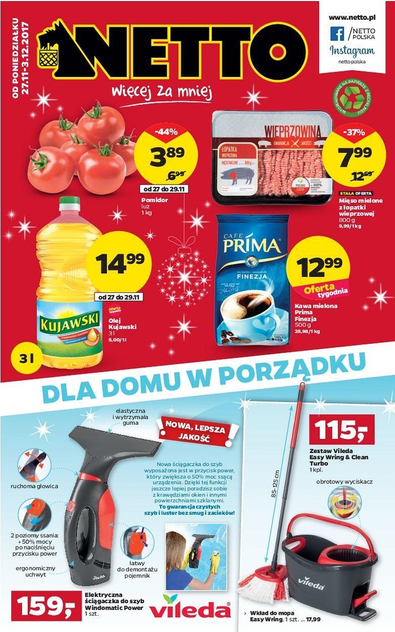Gazetka promocyjna Netto do 03/12/2017 str.0