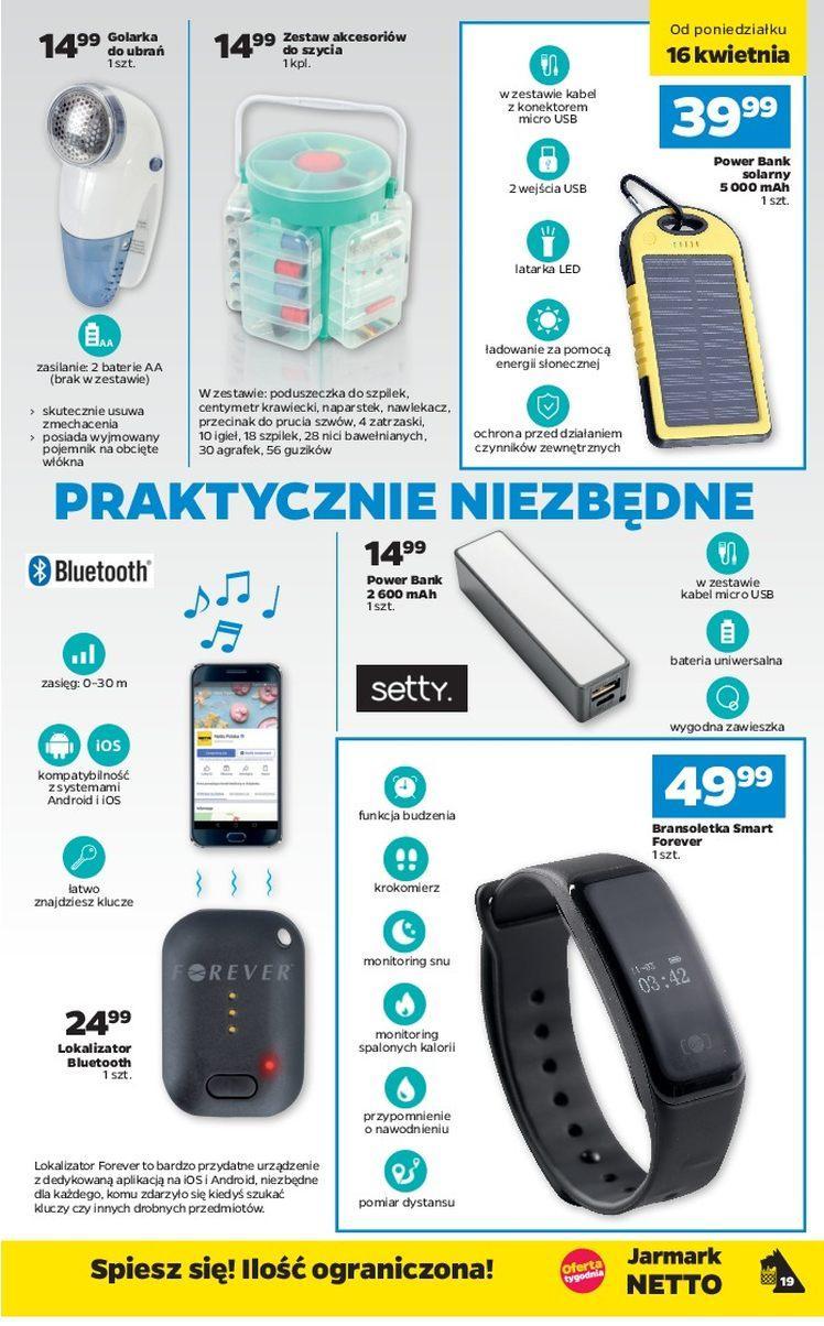 Gazetka promocyjna Netto do 21/04/2018 str.18