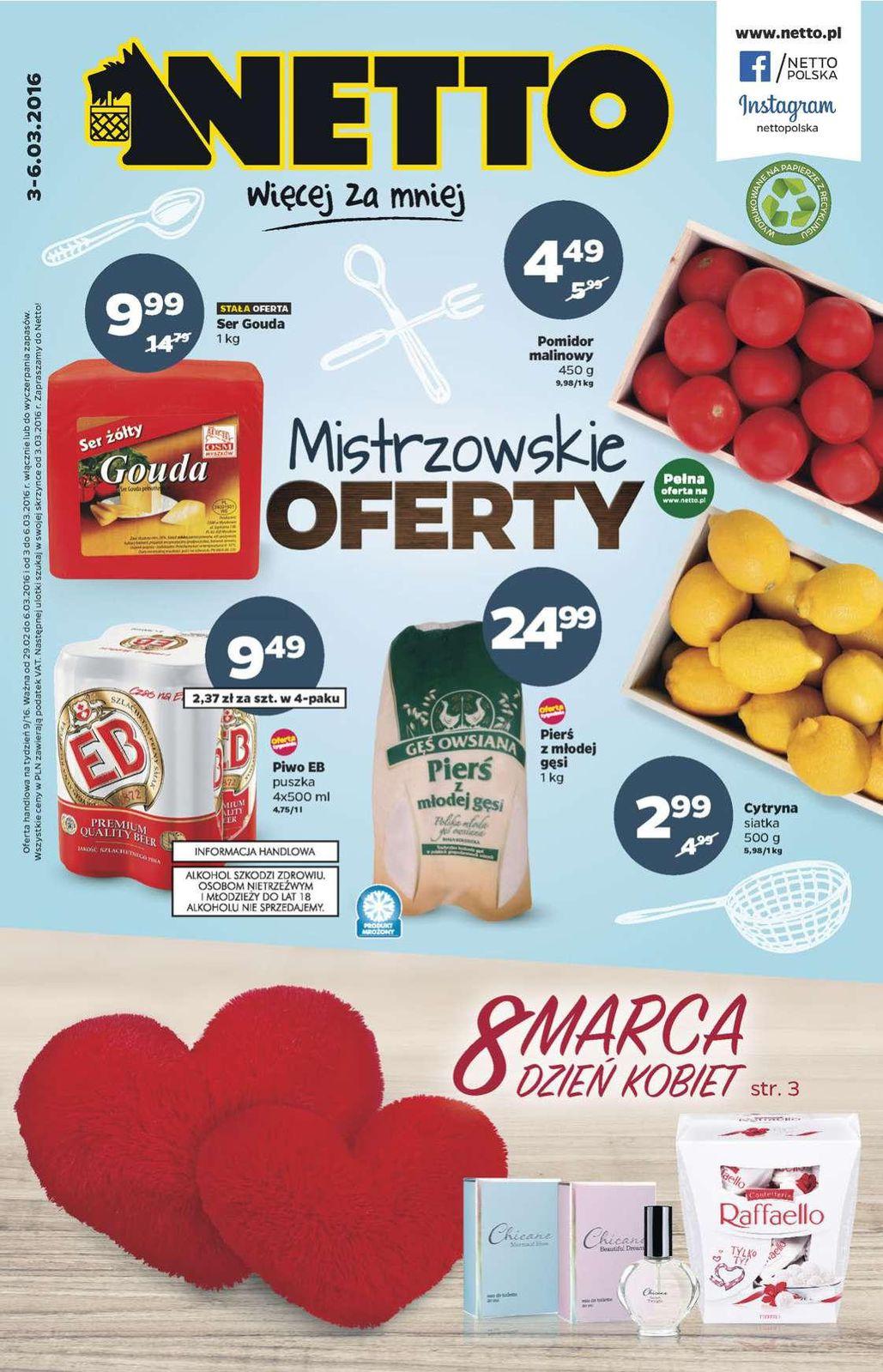 Gazetka promocyjna Netto do 06/03/2016 str.0