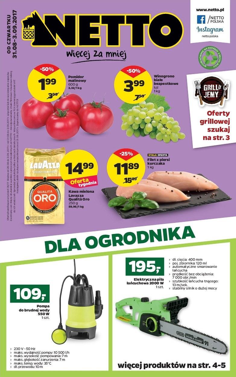 Gazetka promocyjna Netto do 03/09/2017 str.0