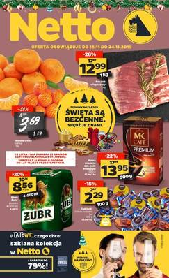 Netto gazetka - od 18/11/2019 do 24/11/2019