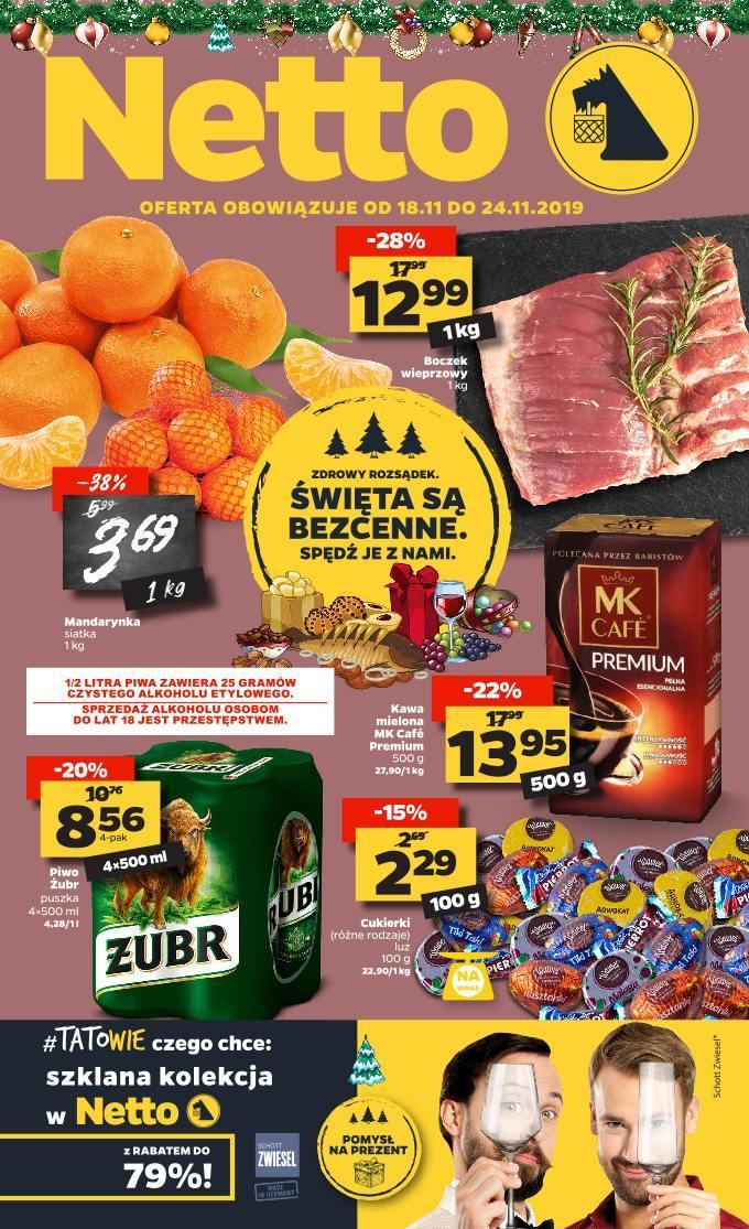 Gazetka promocyjna Netto do 24/11/2019 str.1