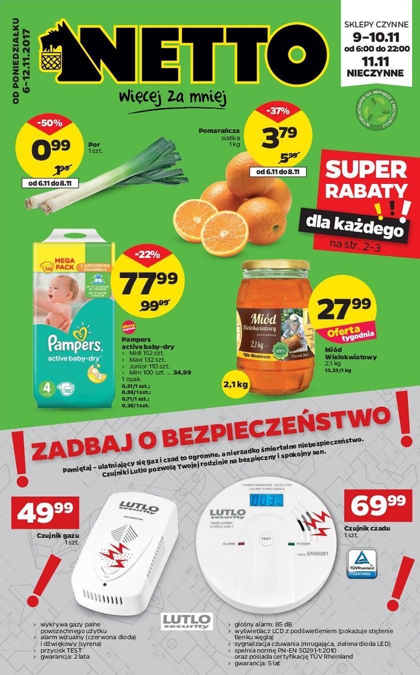 Gazetka promocyjna Netto do 12/11/2017 str.0