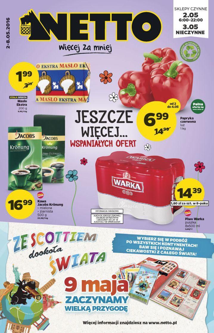 Gazetka promocyjna Netto do 08/05/2016 str.0
