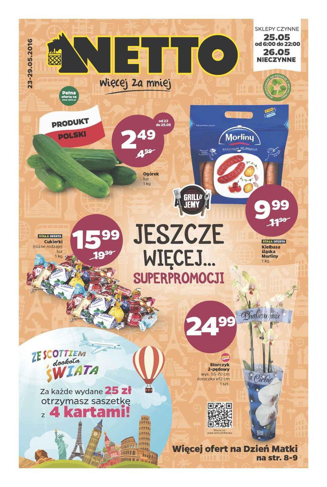 Gazetka promocyjna Netto do 29/05/2016 str.0