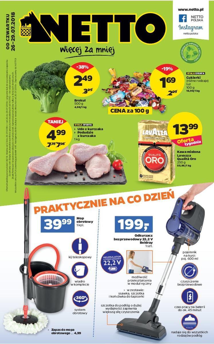 Gazetka promocyjna Netto do 29/07/2018 str.0