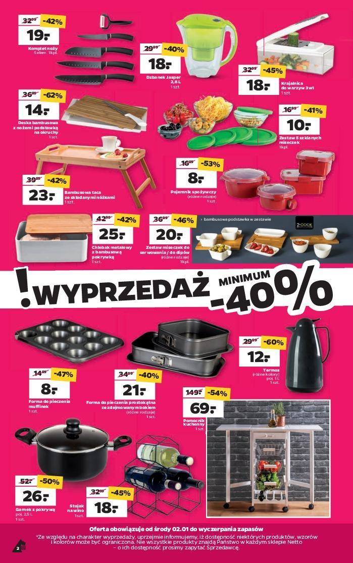 Gazetka promocyjna Netto do 05/01/2019 str.1