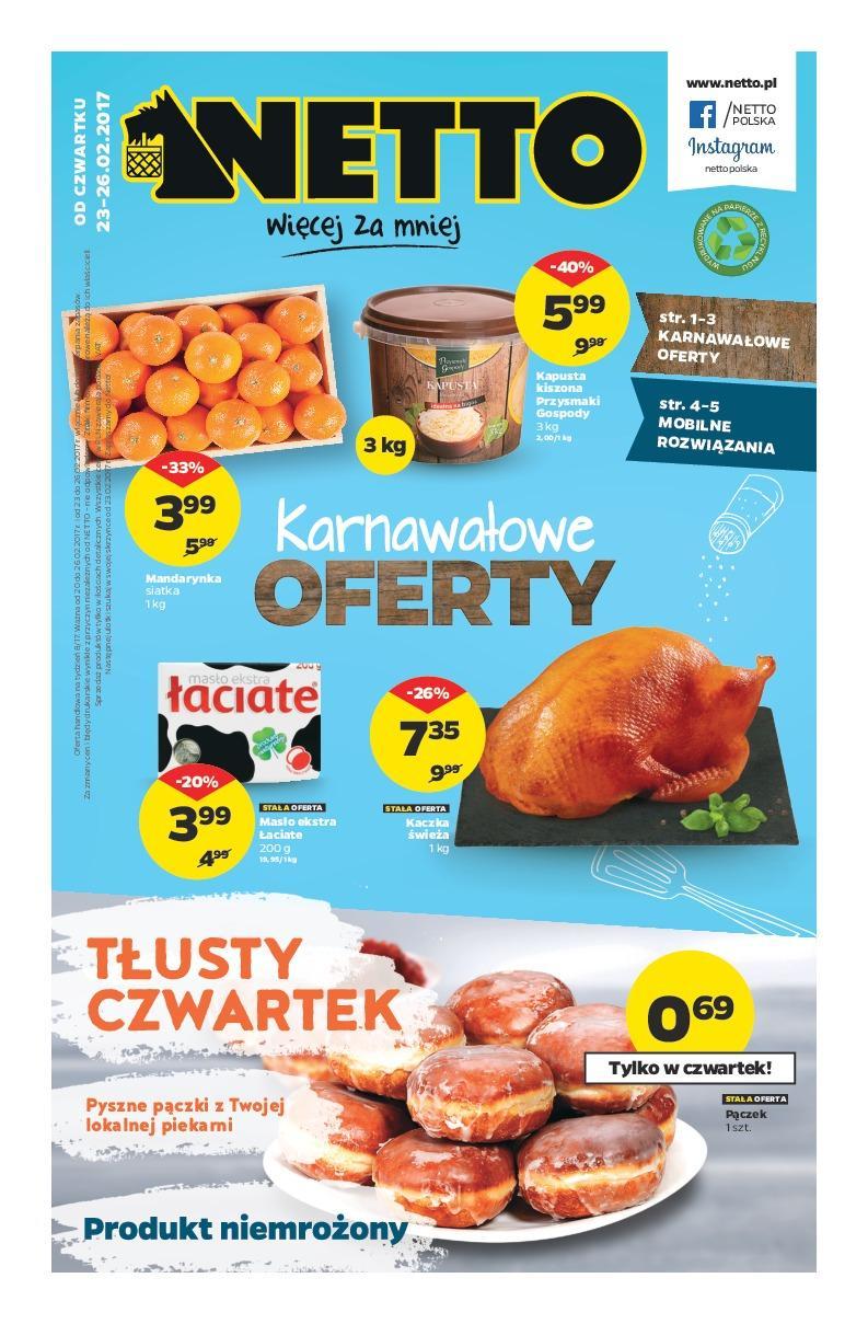 Gazetka promocyjna Netto do 26/02/2017 str.0