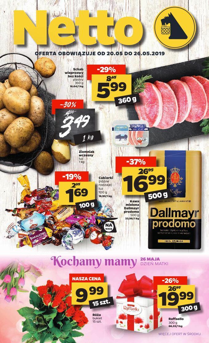 Gazetka promocyjna Netto do 26/05/2019 str.1