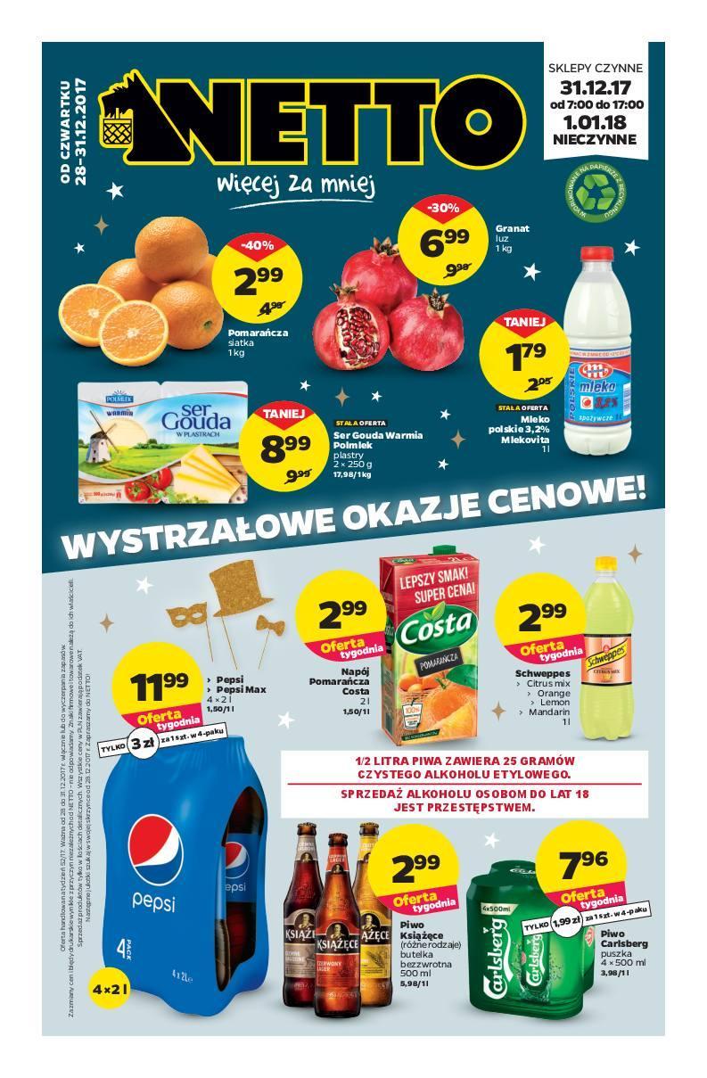 Gazetka promocyjna Netto do 31/12/2017 str.0