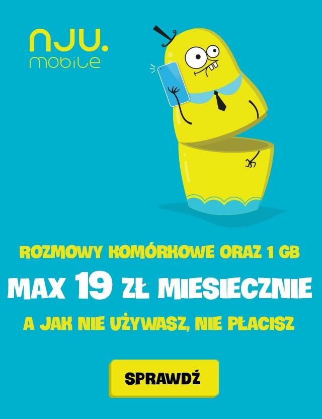 Gazetka promocyjna NJU Mobile do 31/07/2016 str.1