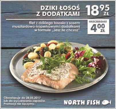 Gazetka promocyjna North Fish do 28/05/2017 str.1