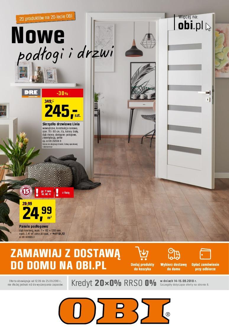 Gazetka promocyjna OBI do 25/09/2018 str.1